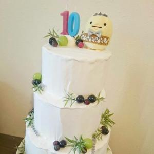 バリィさん3段ケーキ