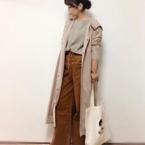 【UNIQLO】秋の神Tシャツ&オトナ女子にぴったりな綺麗めモッズコート♪
