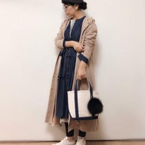 ベレー帽かぶりました★着るたびに好きになるアウターでレイヤードコーデ♪