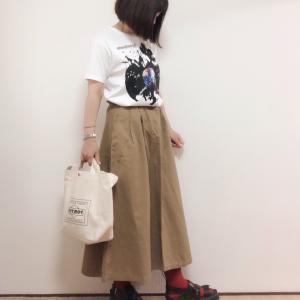楽天ポチ!【グラニフ】おしゃカッコいいTシャツコーデ