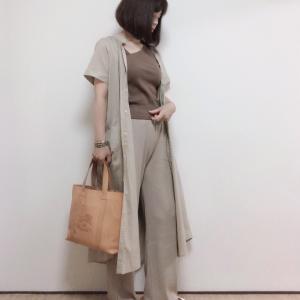 夏の名品!【BIRKEN STOCK】と羽織りに最適!【GU】のワンピース