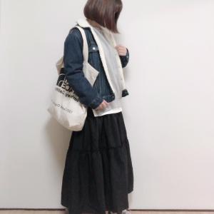 予想が的中!買って正解な春まで履けるロングティアードスカート
