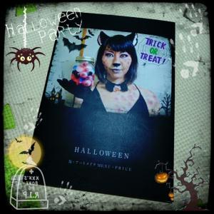 Halloweenメニューとグロネイル♡