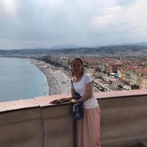 フランス旅行2019その6、ニースの城壁