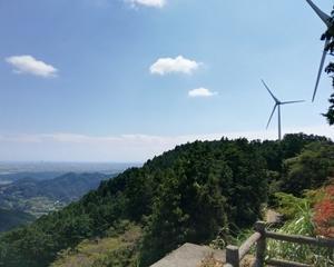 滝沢展望台と仙厳の滝