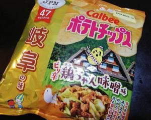 ポテトチップス鶏ちゃん味噌味