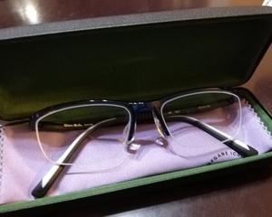 息子 とうとう眼鏡に