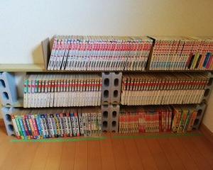 簡易コミック本棚