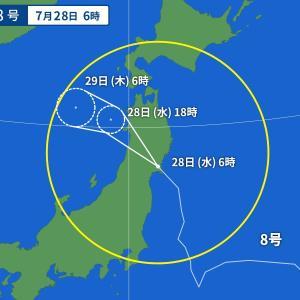 台風その後