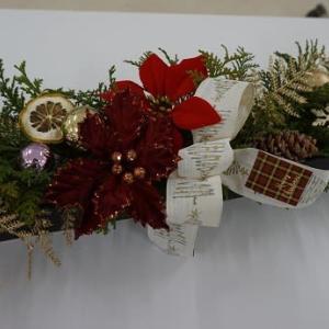 JAミセススクール クリスマスアレンジ