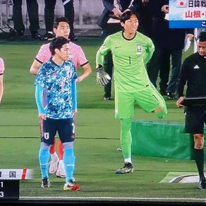 面白かった日韓戦。 国際親善試合 日本3-0韓国