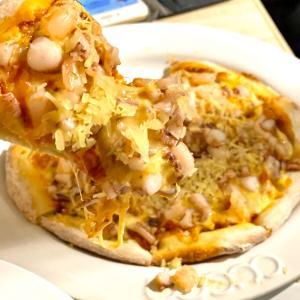 佐佐義 義大利餐廳 微風南京4階でイカパスタとタコピザランチ