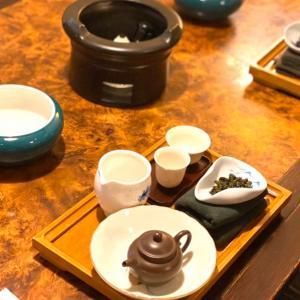 台北の竹里館で茶藝館体験