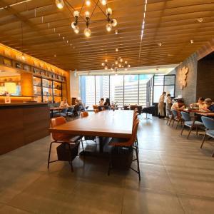 TSUTAYAのカフェ信義統一百貨でランチ