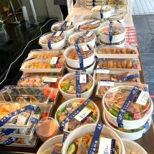 欣葉日式料理の唐揚げ弁当