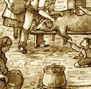 A cada cerdo le llega su San Martín 裁きの日 / René Clair nació (1898) ルネ・クレール誕生 / J・M・クッツェー 『続・世界文学論集』
