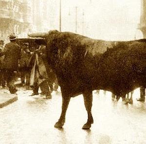 Fortuna mató un toro en la Gran Vía (1928) / Vsévolod Meyerhold nació メイエルホリド誕生(1874) /
