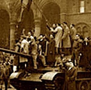 Hijos de la gloria ハンガリー1956(君の涙ドナウに流れ) una película húngara / 台風情報 (tifón) / Lluvia en Rio de Janeiro リオ水害 / toros desde Cabra (Córdoba) / La enfermedad blanca (Karel Čapek)