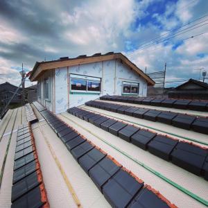 甲賀市土山町の現場。