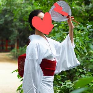 こないだ買った浴衣が京都の芸妓さんが着てるのとそっくりだった。
