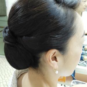 和装は髪と衿よね~~。