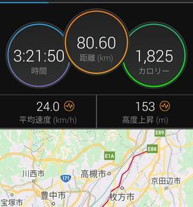 長野から自転車でやって来た中国の男の子とプチサイクリング