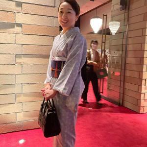 お洒落(着物)して、葉加瀬太郎さんのコンサートへ
