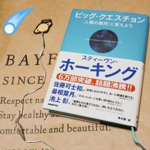 紙袋でブックカバー☆ホーキング☆読書日記
