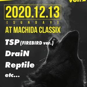 12/13町田CLASSIXにてライブ決定♪