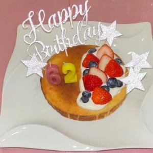 62歳の誕生日♡
