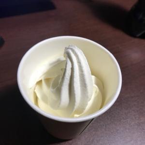 セルフでソフトクリーム