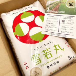 【レスキュー】山形のブランド米「雪若丸」10kgをスポーツ用品店で購入!