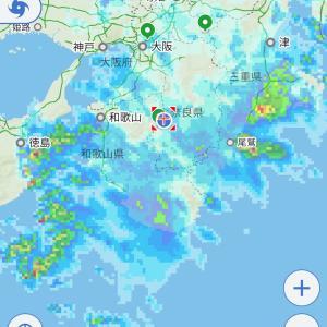 明日18(土)は臨時休業致します❗️台風への備えは大丈夫ですか?