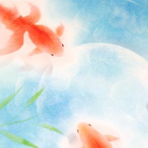 夏だね、金魚だね(オンラインパステル)