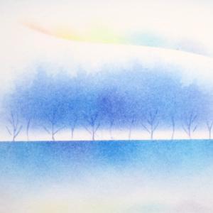 動画あり パステル シンプルメソッド白の世界【私が足元に虹を描き入れるわけ】