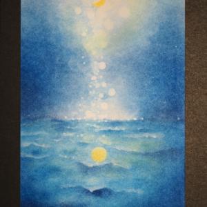 Zoomパステル光の海(光の樹の特典講座)、楽しかったー!