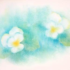 生徒様作品 フラワーパステル画 向日葵 自分を大切にするこんな形