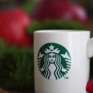 クリスマス仕様のマグカップ