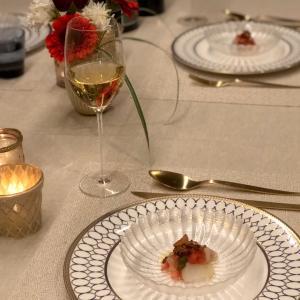 夫の誕生日ディナー