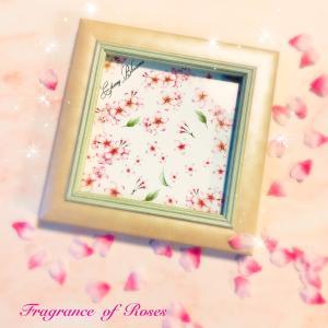 卒業記念のSAKURAタイルアート♪桜の中でも人気転写紙と…車窓から桜のトンネル♪