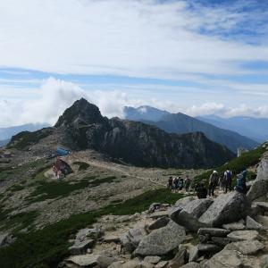 中央アルプス 中岳