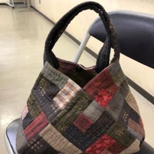 四角つなぎのバッグ★