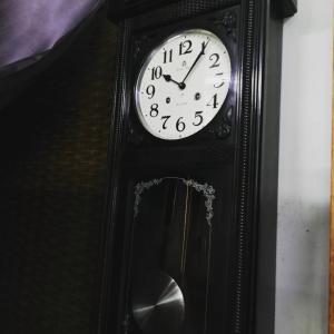 アイチ柱時計の修理②(#^.^#)