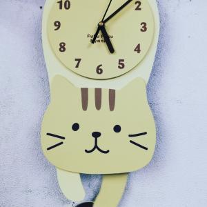 猫の時計と柔術( ^ω^ )