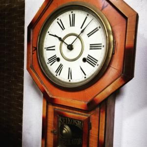 お客様の声より。振り子時計の加工修理(*^▽^*)