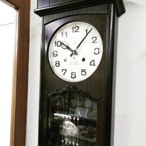 アイチ時計、60日巻き柱時計の修理(^-^)/