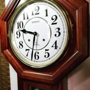 極大!電池式柱時計の修理( ^ω^ )