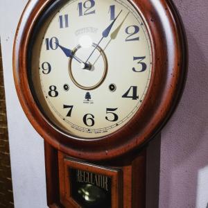 帰還♪数十年前の当店振り子時計を修理(*^^*)