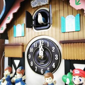 沢山ご来店と、鳩時計修理にほっこり(#^.^#)