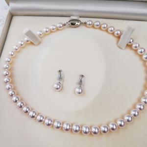 真珠ネックレスのクラスプ交換(^_^)v